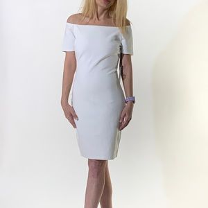 NWT Lulu's White Off The Shoulder Dress Size M
